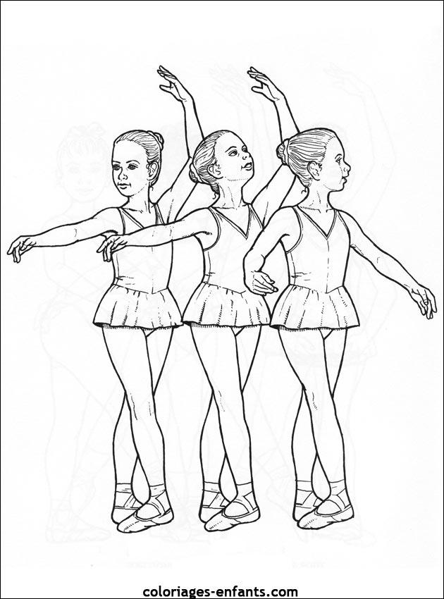 Dessins Gratuits A Colorier Coloriage Danse A Imprimer